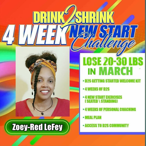 Who is Ready for Drink2Shrink 4 Week Weight Loss Challenge!!!