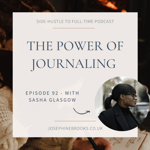 The power of journaling podcast conversation with josephine brooks