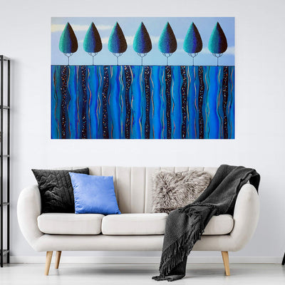 Original Textured Acrylic Nature Painting - 152cm x 101cm