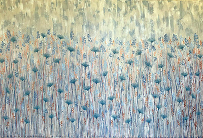 Field of Wild Flowers by Lisa Frances Judd