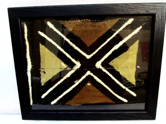 Framed Mud Cloth