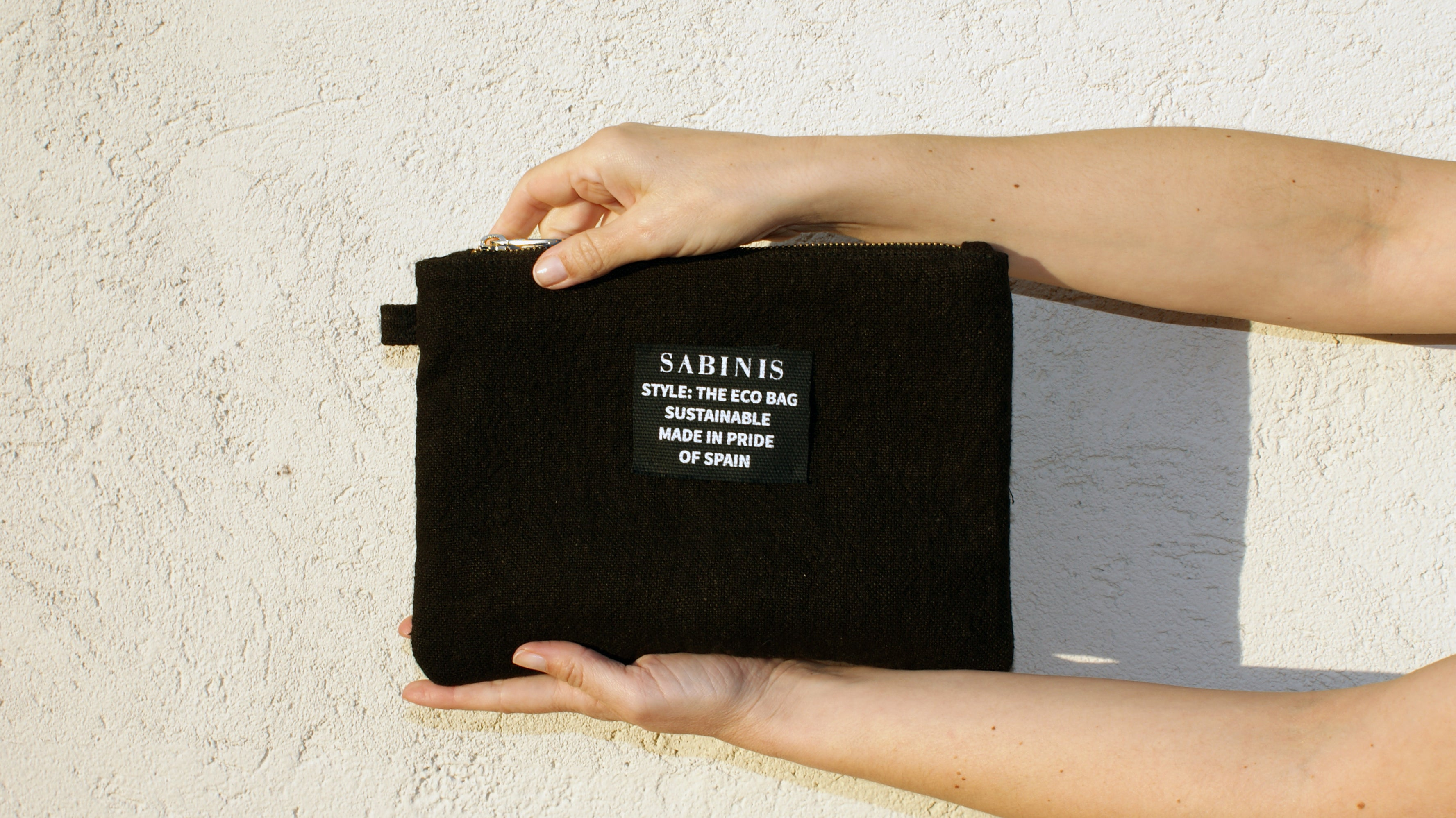 The Eco Bag POUCH black