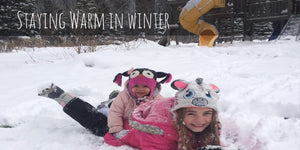 How to Dress Your Kids for Outdoor Winter Activities