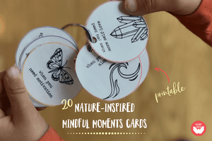20 Nature-Inspired Mindful Moments Cards