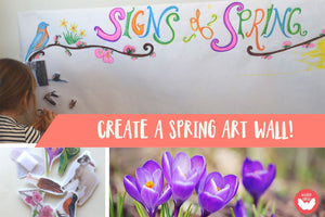 Chronicle Spring With a Family Art Wall!