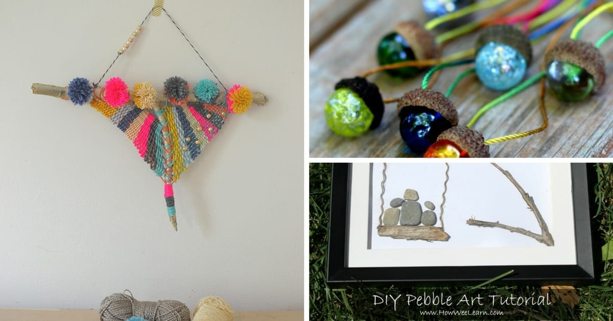 Nature Inspired gifts kids can make for adults