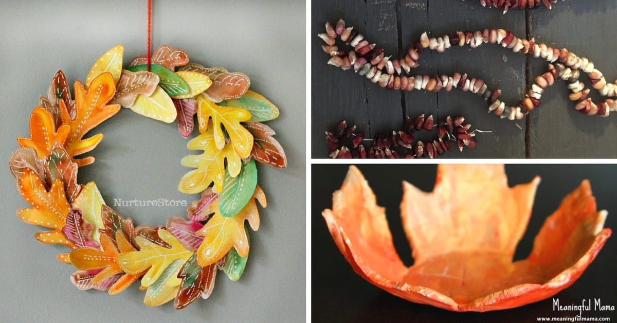 Nature Inspired Gifts Kids Can Make
