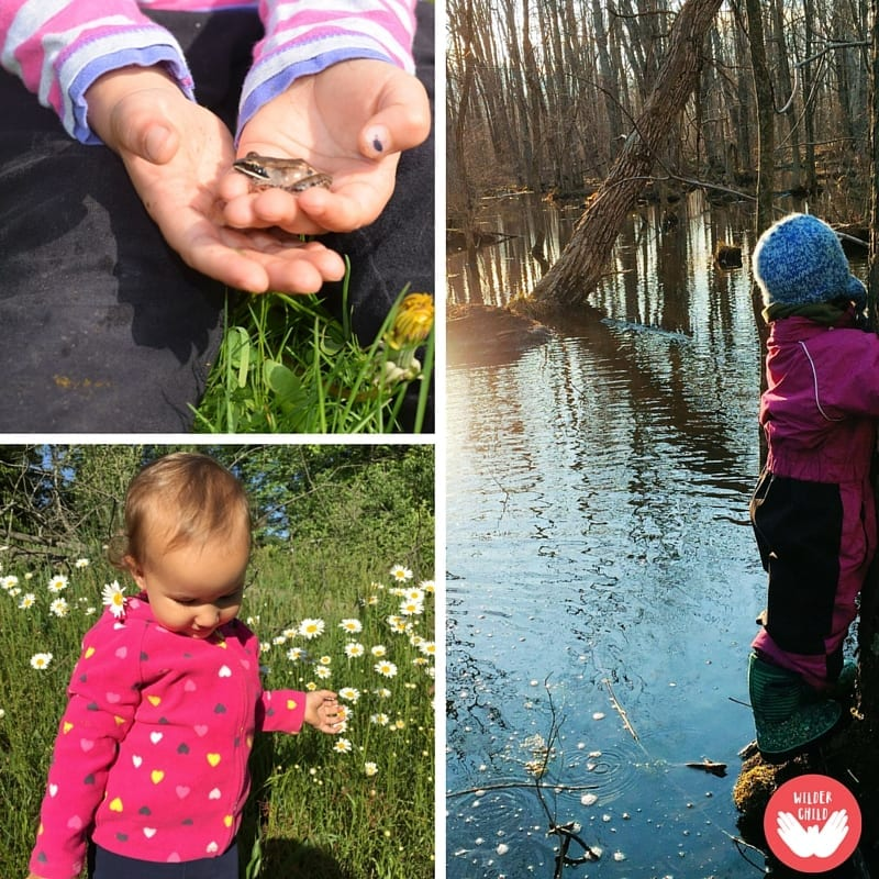 What happens when you invite nature along on your parenting journey