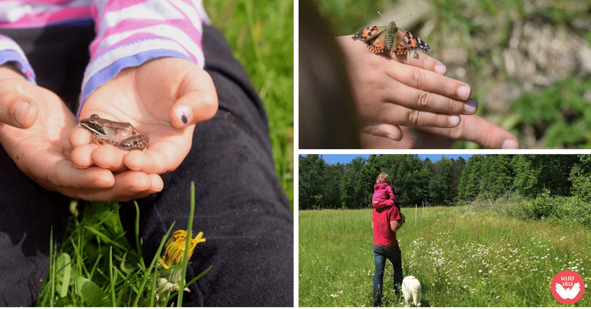 You are the perfect naturalist and person to connect your children to nature