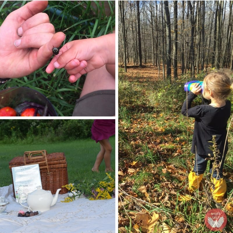 starting nature-inspired homeschool and unschool