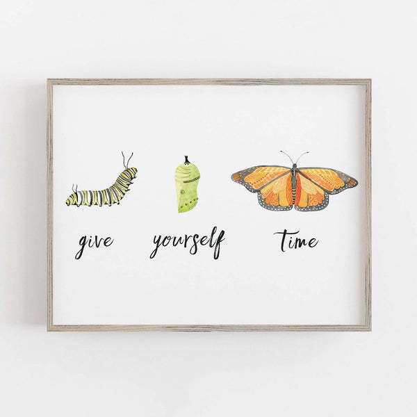 Give Yourself Time Print