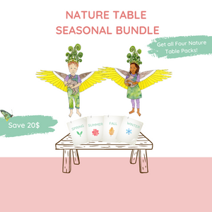 Nature Table Packet Bundle - All 4 Seasons
