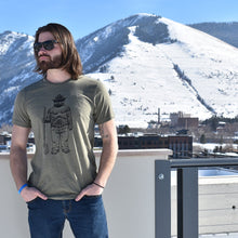 Smokey Bear Shovel Crewneck Tee