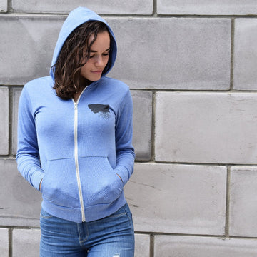 Light-Weight Zip Hoodie