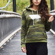 Ladies Eco Fleece Pullover Hoodie