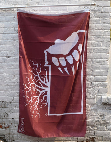 Griz Paw Montana Roots Flag