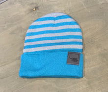 Stripped Folded Cuff Beanie