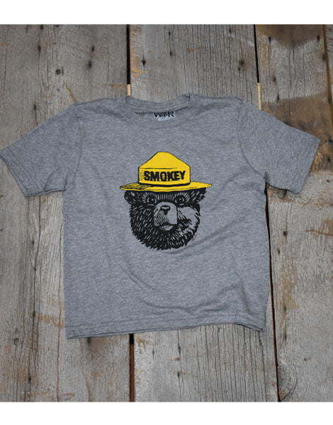 Smokey Bear Youth Crewneck Tee