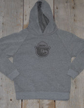 Smokey Leather Patch Youth Hoodie
