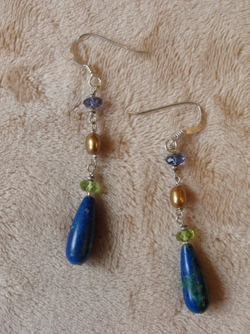 Earth and Sea Earrings