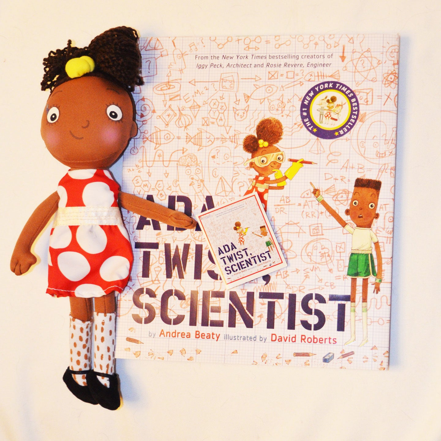 Ada Twist, Scientist Book and Doll Set