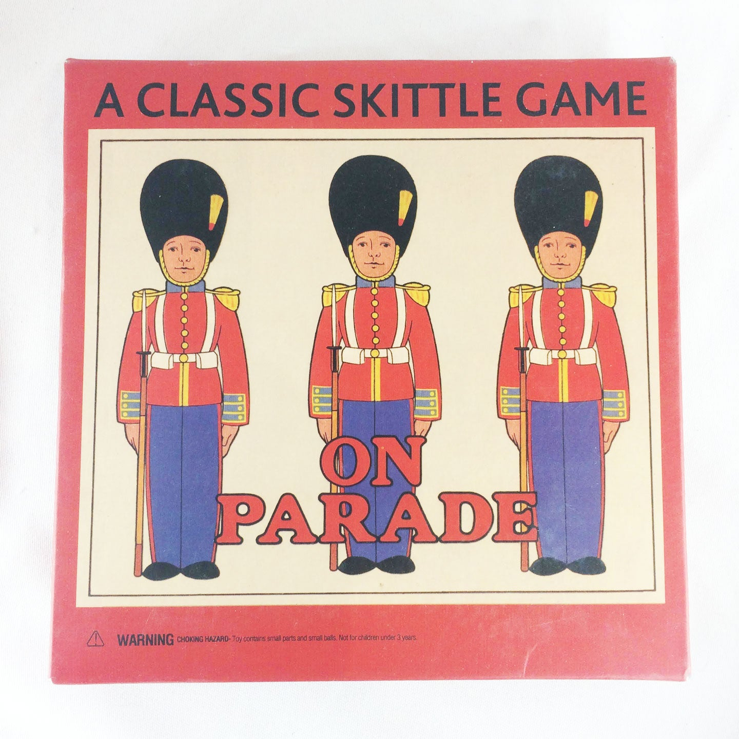 On Parade - Classic Game of Soldier Skittles