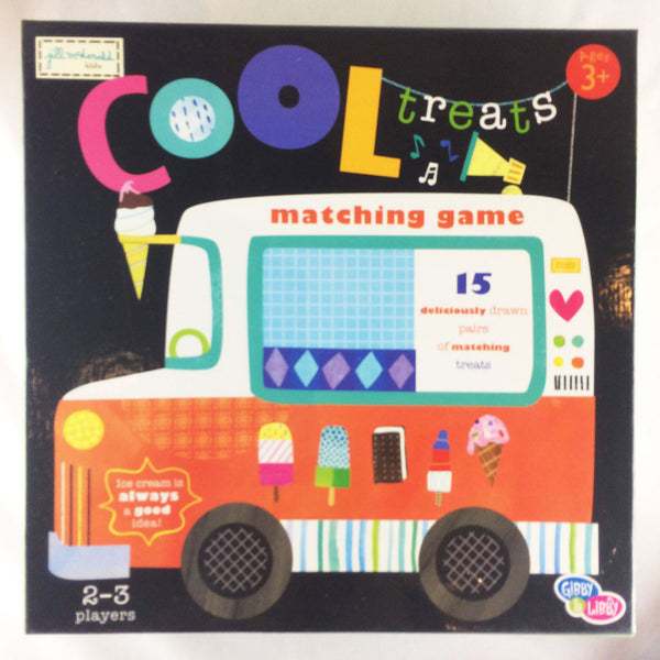 Cool Treats Matching Game