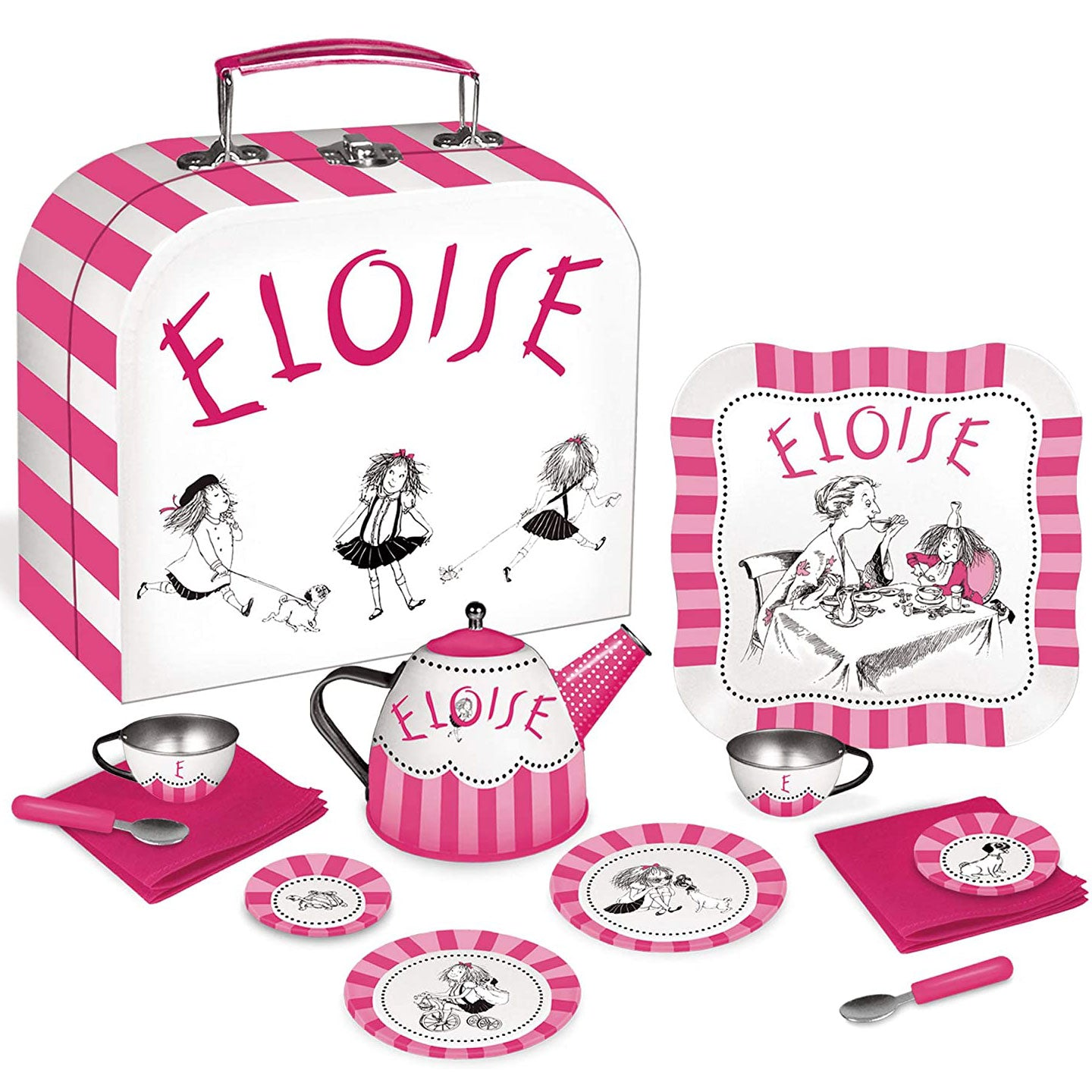 Eloise Tin Tea Set