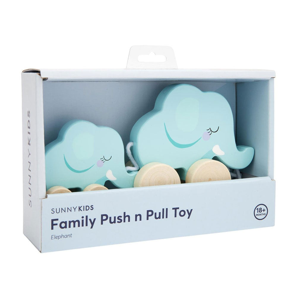 Elephant Family Pull Toy