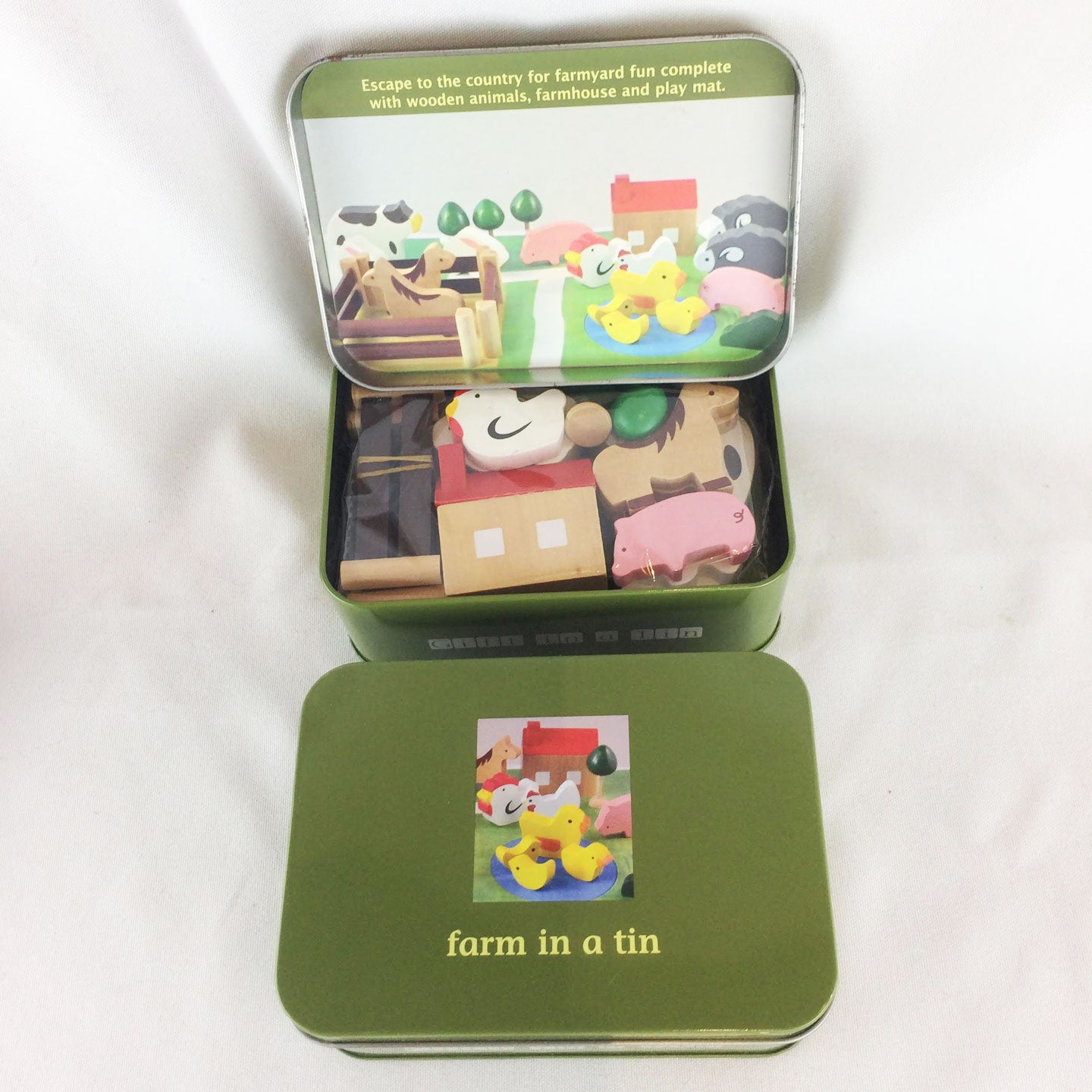 Farm Set Tin