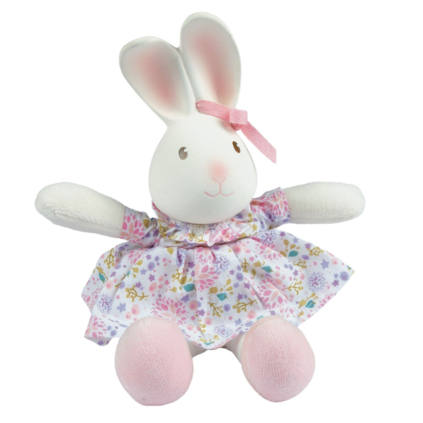 Havah the Bunny -  Rubber head Plush Toy