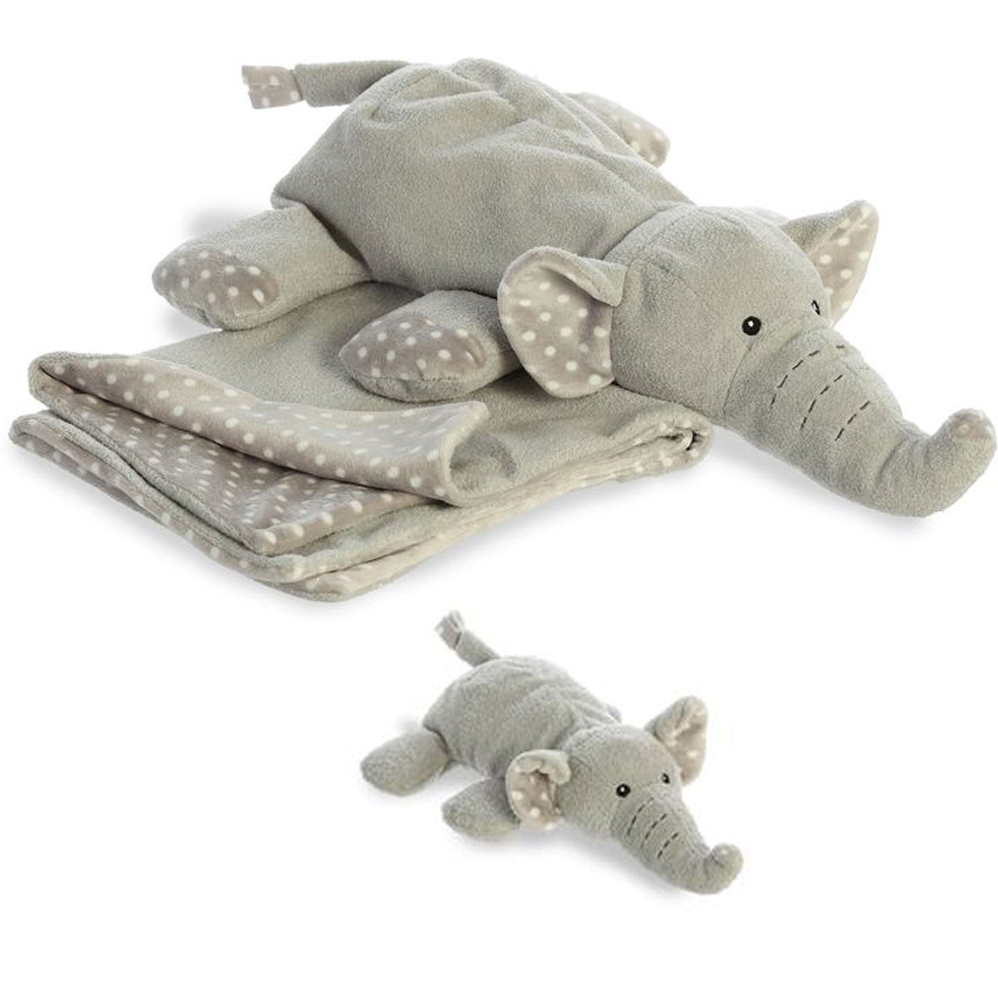 Ears Elephant Loungie and Rattle