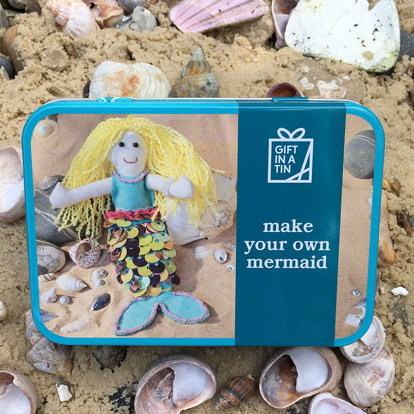 Make Your Own Mermaid Tin