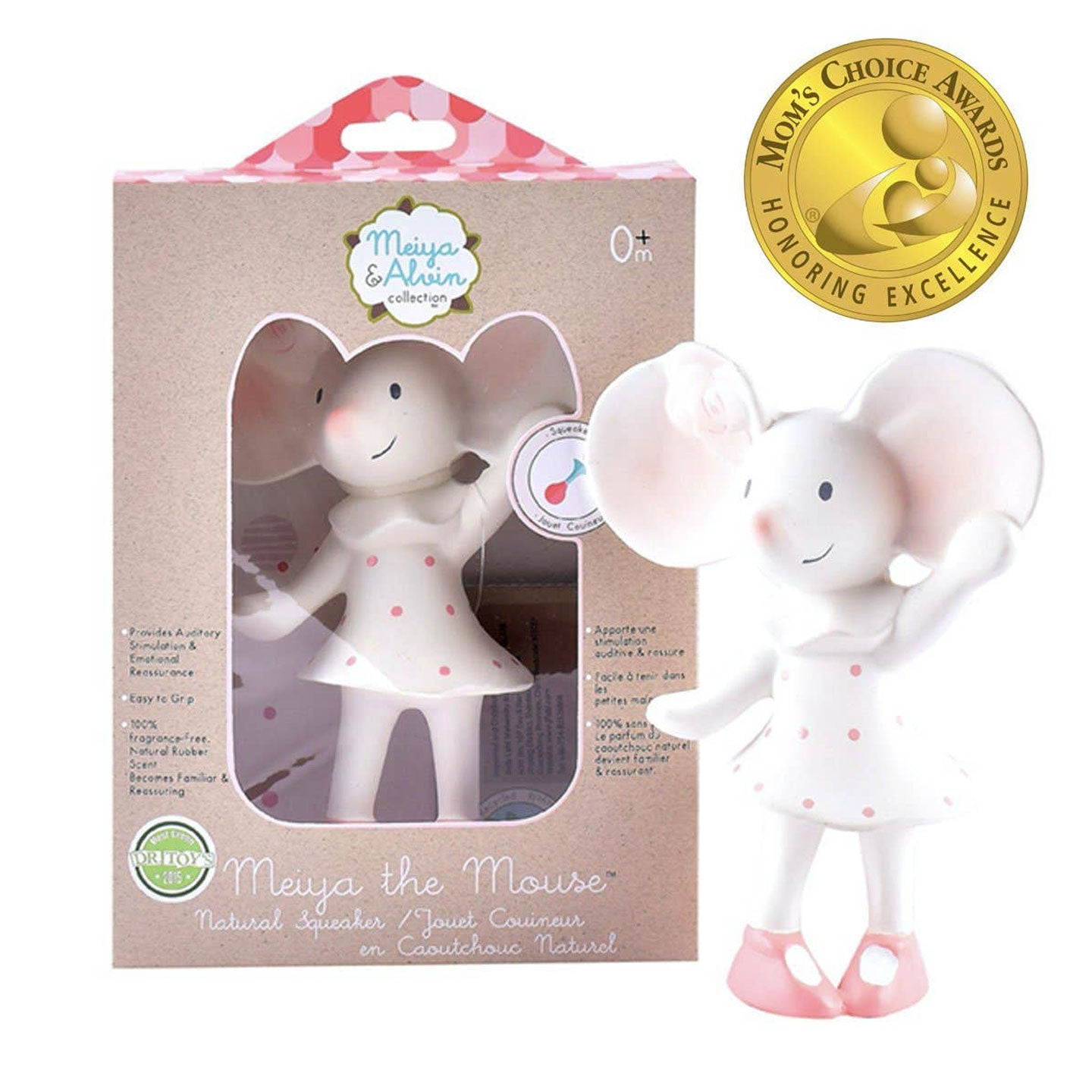 Meiya the Mouse Squeaker Toy