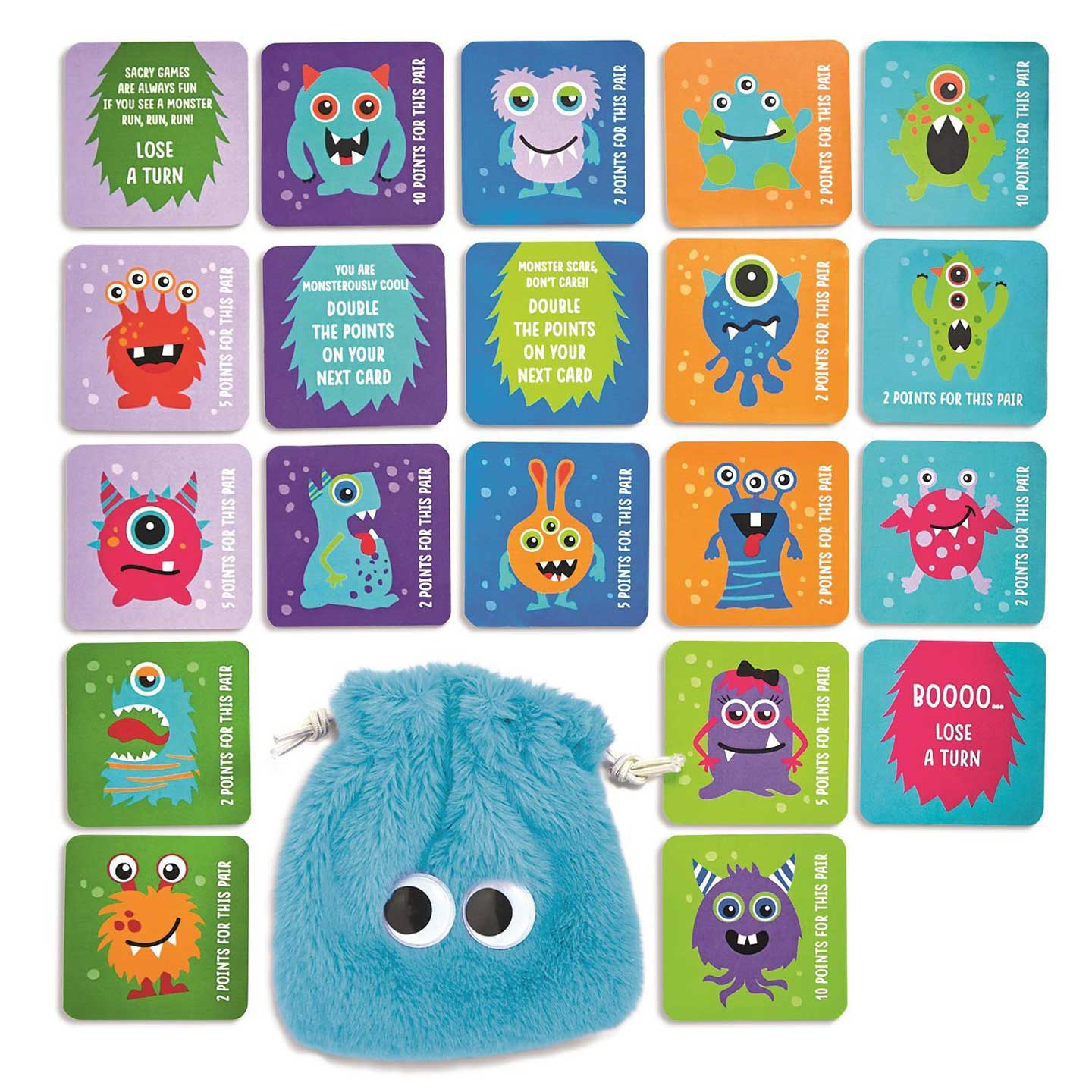 Monster Memory Game