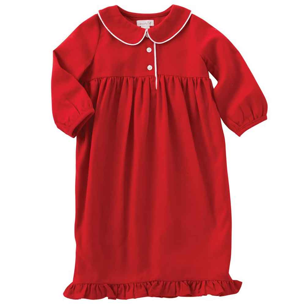 Red Collar Nightgown