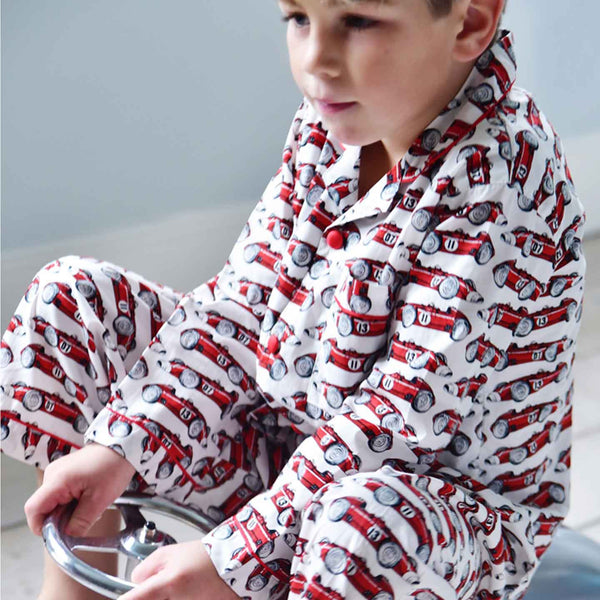 Vintage Racing Car Pyjamas