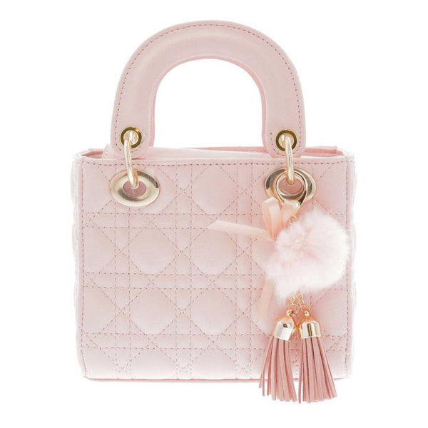 Quilted Pink Bag