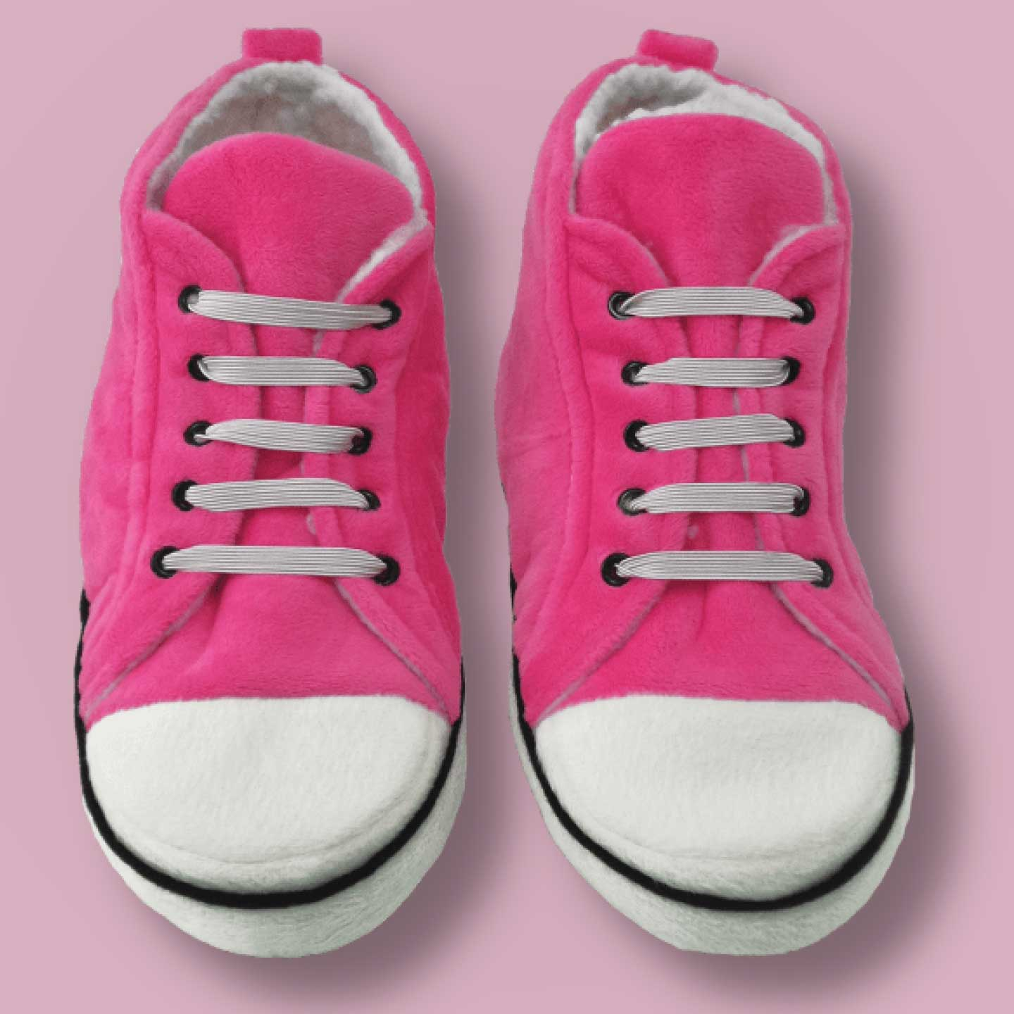 Pink Hi-Top Slippers