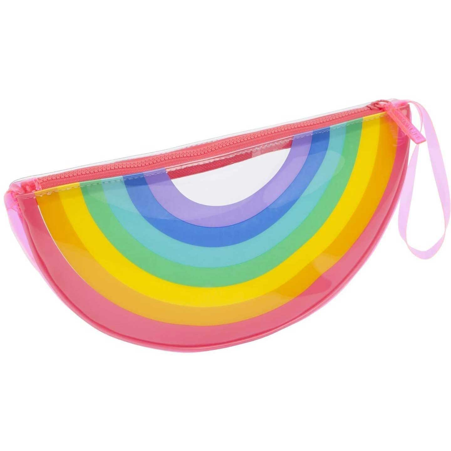 See Thru Rainbow Clutch