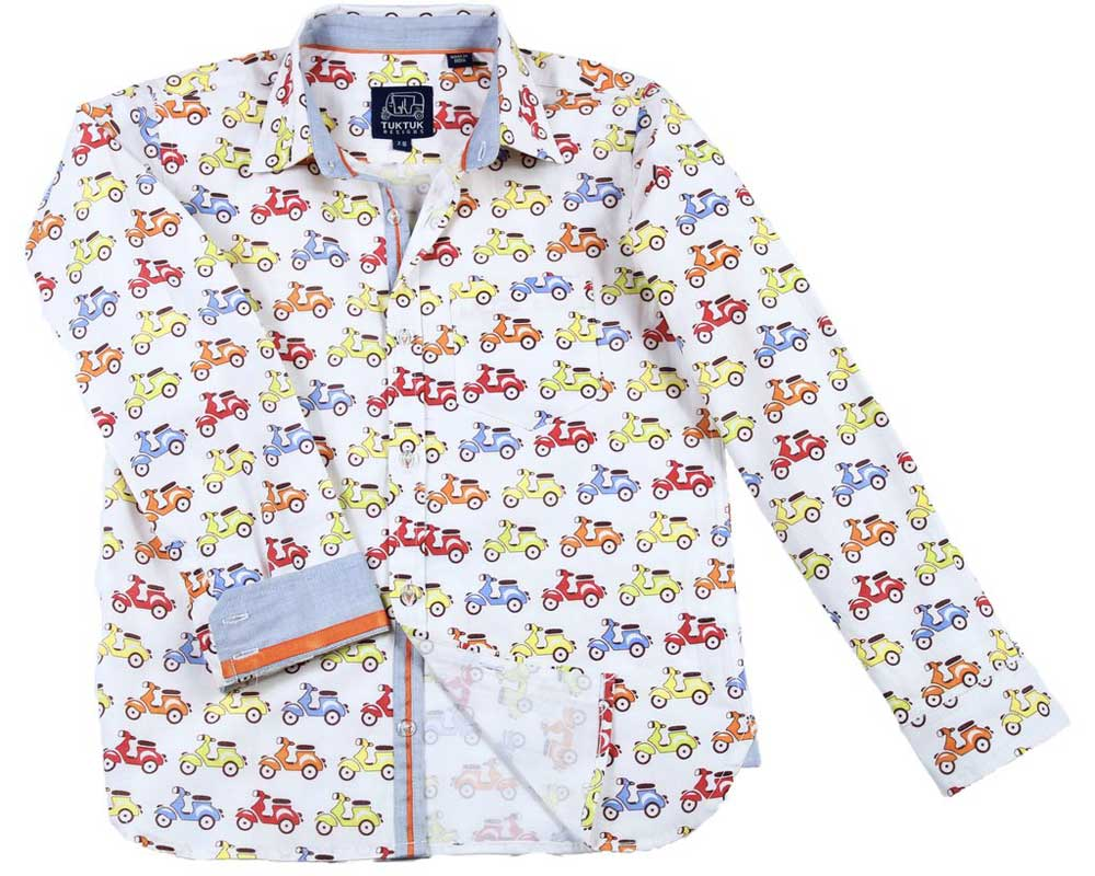 Zippy Scooters Long Sleeve Shirt