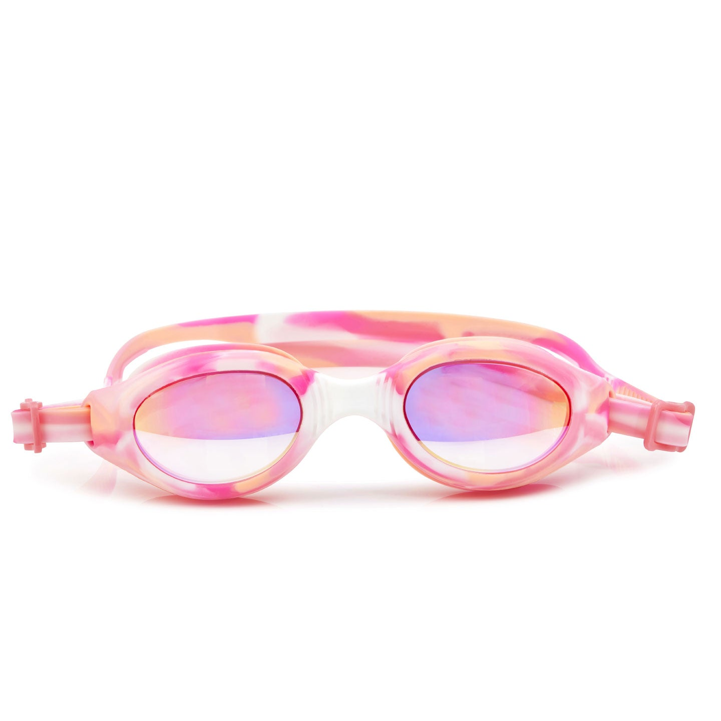 Orange Taffy Swim Goggles
