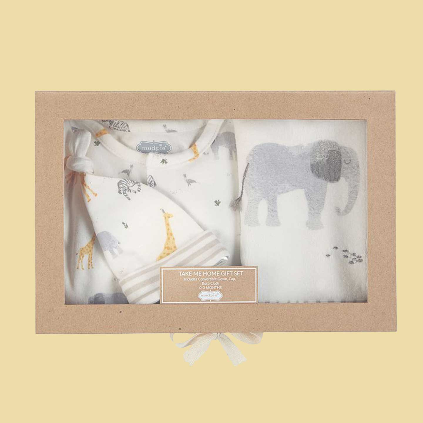 Safari Animal Take Me Home Gift Set