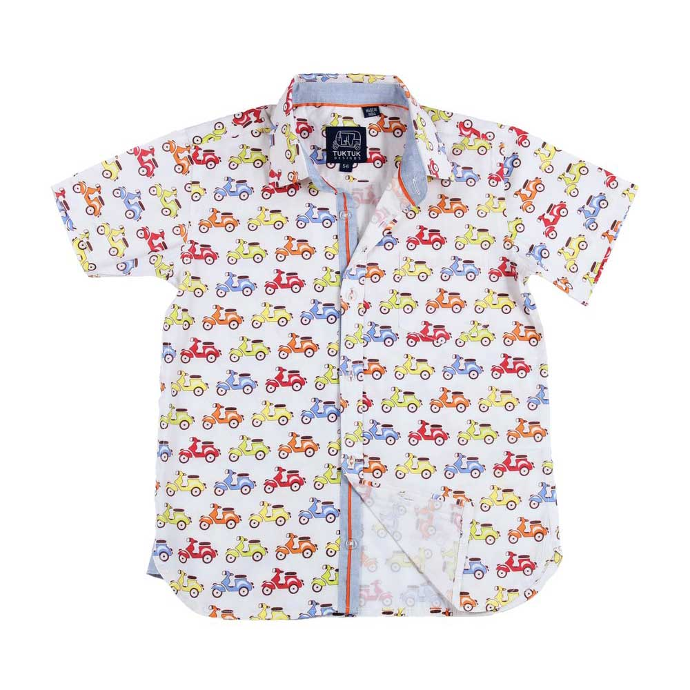 Short Sleeves Zippy Scooters Shirt