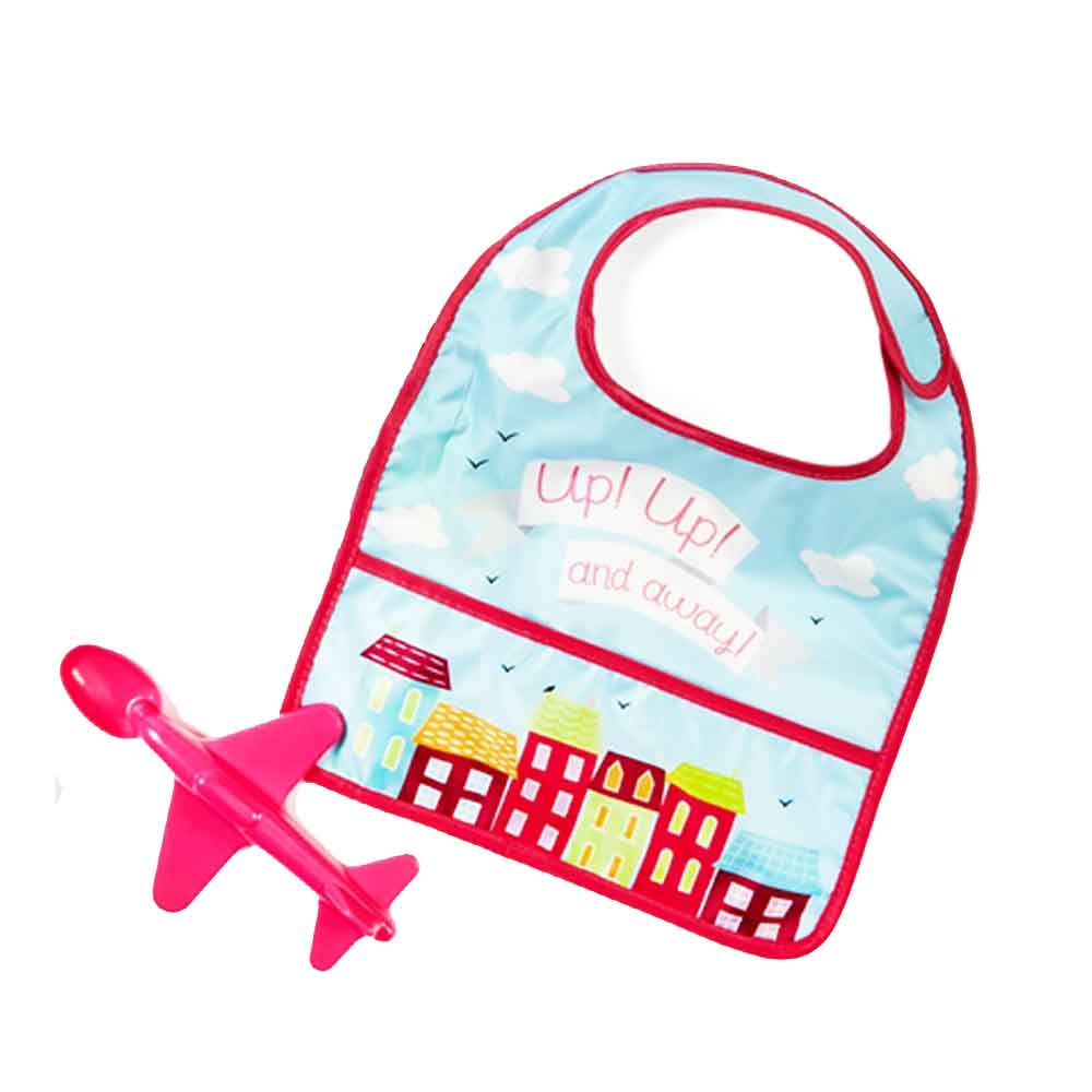 Up and Away Bib