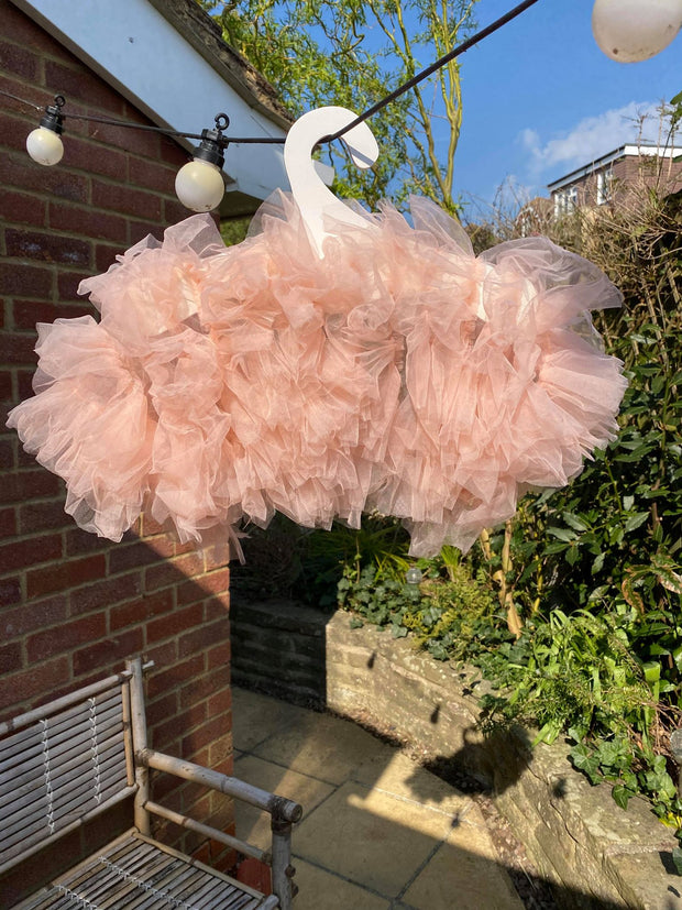 Pippa - Tulle wrap in light pink