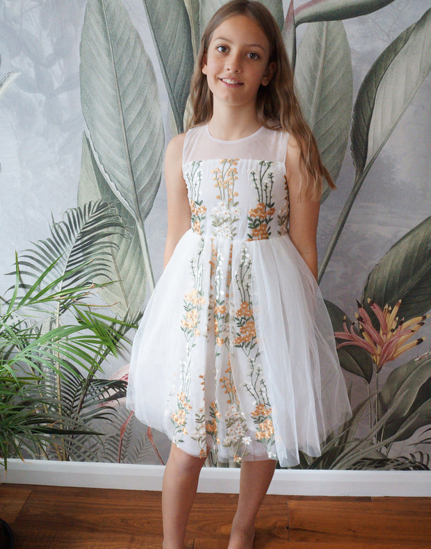 Auora ~ Flower Girl or Party Dress