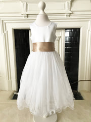 Louisa ~ Flower Girl Dress