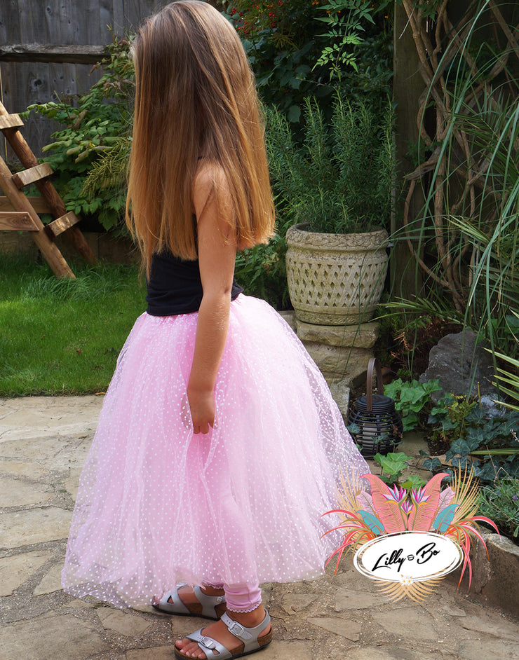 Mave in pink ~ Tutu skirt