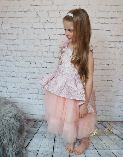 Raia ~ Flower Girl or Party Dress